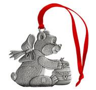 Teddy Bear with Honey pot- Ornament