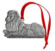 Lion & Lamb - Ornament