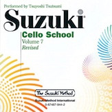 Suzuki Cello CD, Volume 7