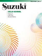Suzuki Cello School, Cello Part Volume 6