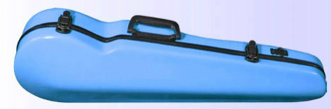 Light Blue Core Suspension Fiberglass Case