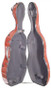 4600 Carbon Fiber Composite Cello Case Open