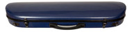 Blue Carbon Composite Violin Suspension Case Oblong Contoured