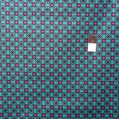 Mark Cesarik PWMC024 Cosmic Burst Milky Way Teal Cotton Fabric