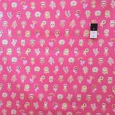 Erin McMorris EM30 Summersault Flowerpop Rose Fabric By The Yard