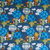 David Walker PWDW082 Play Date Park Walk Grove Cotton Fabric By Yard