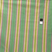Heather Bailey OCHB008 Fresh Cut Lounge Stripe Turquoise LAMINATE Fabric By Yd