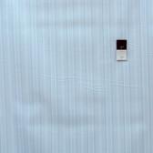 Annette Tatum PWAT093 Vintage Garden Stripe Teal Cotton Fabric By The Yard