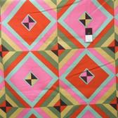 Amy Butler LIAB004 Hapi Sky Pyramid Caramel LINEN Fabric 1 3/4 Yard