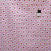 Tanya Whelan PWTW078 Valentine Rose Cameo Hearts Pink Fabric By The Yard
