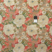 Melissa White PWMW019 Amelie's Attic Edgars Bouquet Teastained Fabric By Yard