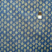 Melissa White PWMW023 Amelie's Attic Meadow Peacock Fabric By Yard