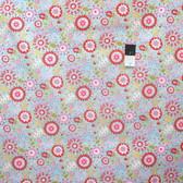 Dena Designs PWDF173 Little Azalea Petunia Red Fabric By The Yard