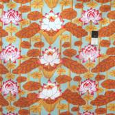 Kaffe Fassett GP140 Lotus Stripe Pastel Cotton Fabric By The Yard