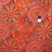 Kaffe Fassett GP92 Millefiore Tomato Cotton Fabric By The Yard