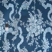 Verna Mosquera PWVM131 Indigo Rose Basket Toile Midnight Cotton Fabric By Yd