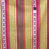 Nel Whatmore PWNW024 Katherine's Wheel Stripe Fuchsia Cotton Fabric By Yard