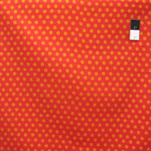 Kaffe Fassett GP70 Spot Red Cotton Fabric By The Yard