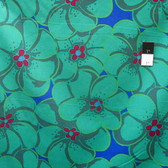 Brandon Mably PWBM056 Elephant Flower Green Quilt Cotton Fabric By The Yard