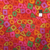 Brandon Mably PWBM057 Puzzle Red Quilting Cotton Fabric By The Yard
