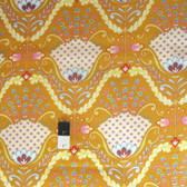 Dena Designs PWDF174 Little Azalea Hyacinth Orange Cotton Fabric By Yard