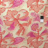 Anna Maria Horner True Colors PWTC031 Filigree Coral Cotton Fabric By Yd