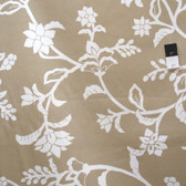 Vicki Payne Crewel Taupe Cotton HOME DECOR Fabric By Yd
