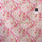 Tanya Whelan PWTW109 Lola Paisley Pink Cotton Fabric By Yd