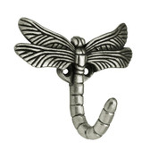 B46145Y-BSP Brushed Satin Pewter Dragonfly Coat and Hat Hook