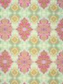 Jennifer Paganelli PWJP105 Hillary Nostalgia Green Cotton Fabric By Yard