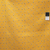 Windham 40655 Desk Job by Firece Mally Yellow Cotton Quilting Fabric By Yard