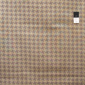 VIP Houndstoot​h Brown Cotton Fabric By Yard