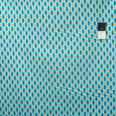 Joel Dewberry PWTC041 Flora Abacus Aqua Cotton Fabric By Yd