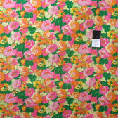 Snow Leopard Classic Floral PWSL034 Southwold Citrus Cotton Fabric By Yd