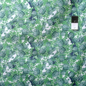 Tina Givens PWTG185 Rosewater Topiary Green Cotton Fabric By Yd