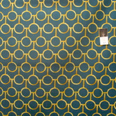 Victoria and Albert PWVA026 Godwin Orb Sunset Fabric By Yard