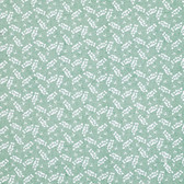 Marjolein Bastin PWMB016 Marjolein's Garden Scattered Blossom Teal Fabric By Yd