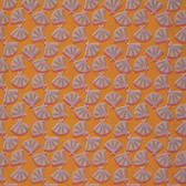 Nel Whatmore PWNW068 Orient Fan Sunset Cotton Fabric By Yard