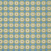 Nel Whatmore PWNW069 Orient Lattice Midnight Cotton Fabric By Yard