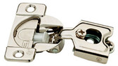 Liberty H1530SL-NP 35mm 105° Euro HInge Partial Overlay Nickel Finish Set of 2