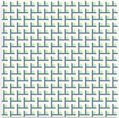 Heather Bailey Voile VOHB002 Momentum Structure Aqua Cotton Fabric By Yard