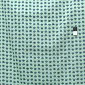 Heather Bailey Voile VOHB005 Momentum Wave Aqua Cotton Fabric By Yard