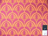 Drawing Room Home Dec HDAH07 Plume Raspberry Fabric By The Yd
