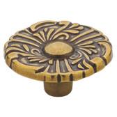 "Liberty P74580-LAN 1 1/2"" Lancaster Antique Brass Provincial Cabinet Drawer Knob"