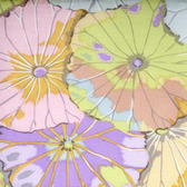 Kaffe Fassett GP29 Lotus Leaf Pastel Cotton Fabric By The Yard