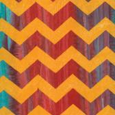 Kaffe Fassett BKKF004 Artisan Batik Lightening Orange Cotton Fabric By The Yard