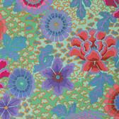 Kaffe Fassett PWGP148 Dream Aqua Cotton Quilting Fabric By The Yard