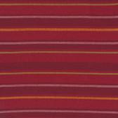 Kaffe Fassett Alternating Stripe Red Woven Cotton Fabric By The Yard