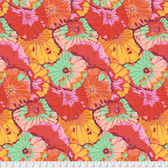 Kaffe Fassett PWGP029 Lotus Leaf Citrus Cotton Fabric By The Yard