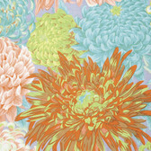 Philip Jacobs PWPJ041 Japanese Chrysanthemums Spring Quilting Fabric By Yard
